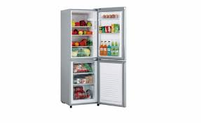 Akai Fridge Freezer AKFR200 SLIVER