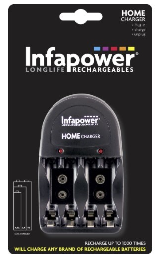 Infapower Value Home Battery Charger - C010