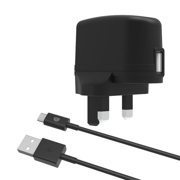 Griffin 2.4A Mains Charger with USB-A to micro USB Cable - GP-011