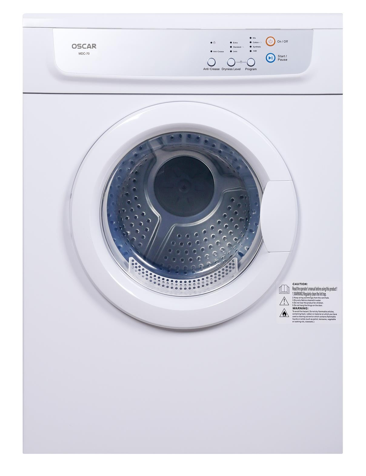 Oscar Tumble Dryer Vented MDC-70