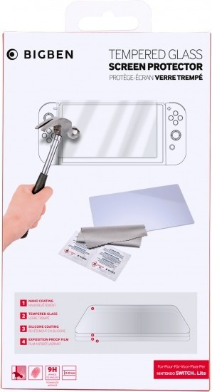 BigBen Tempered Glass for Nintendo Switch Lite - 80361