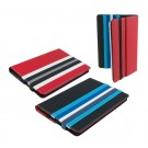"TRUST REVERSO REVERSIBLE FOLIO FOR 7-8"" TABLETS - BLACK/RED #19807"