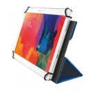 "TRUST AEXXO UNIVERSAL FOLIO CASE FOR 10.1"" TABLETS - BLUE #21205"