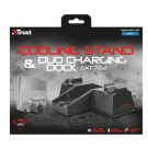 Trust GXT702 Cooling Stand and Duo Charging Dock for PS4 - 21013