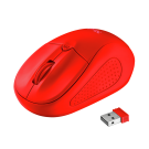 Trust Primo Wireless Mouse - Matte Red - 22138