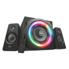 TRUST GXT 629 Tytan RGB Illuminated 2.1 Speaker - 23130
