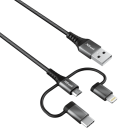 Trust Keyla 3-in-1 USB Cable 1m - 23572