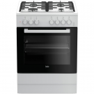 Beko Cooker Electric + Hob Gas FSST62110DW