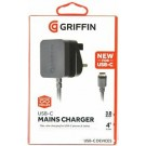 Griffin USB-C Wall Travel Charger - GA42156