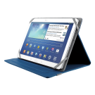 """TRUST VERSO UNIVERSAL FOLIO STAND FOR 10"""" TABLETS - BLUE #19325"""